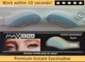2 X Pair Magic Eyeshadow Instant Eyes Eye Shadow Temporary Transfer Sheet Sticker Make Up Makeup Tattoo Tatoo- Shade 17