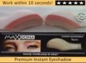 2 X Pair Magic Eyeshadow Instant Eyes Eye Shadow Temporary Transfer Sheet Sticker Make Up Makeup Tattoo Tatoo- Shade 23