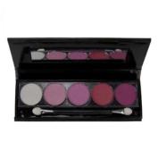 Saffron 5 Colour Eyeshadow Pallette