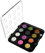 La Femme 12 Pcs Glitter Cream Eyeshadow Palette inc Applictor Set 2