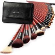 Fräulein3°8 Pro 31pcs Makeup Brushes Set w/Black Case