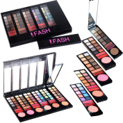 FASH professional 78 Colour Eyeshadow and Lip Gloss - Matte and Shimmer palette