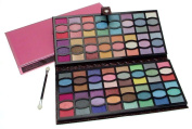 Gorgeous Eye Shadow collection in maroon wallet - excellent selection of 96 colours