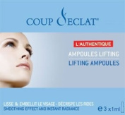 Coup d'Eclat Facial Lifting Phials 3x1ml