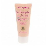 MISS SPORTY SO ENERGETIC NATURAL FOUNDATION -02 MEDIUM