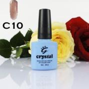 IBN CRYSTAL UV LED GEL LATTE BROWN C10 IBN 10ml