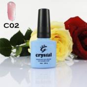 IBN CRYSTAL UV LED GEL MAESHMELLOW PINK C02 IBN 10ml