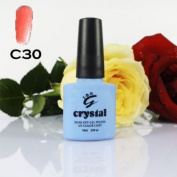 IBN CRYSTAL UV LED GEL ORANGE BURST C30 IBN 10ml