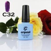 IBN CRYSTAL UV LED GEL PLUM SPARKLE C32 IBN 10ml