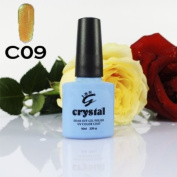 IBN CRYSTAL UV LED GEL SUNFLOWER YELLOW C09 IBN 10ml