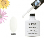 Bluesky Starter Pack 40501 FRENCH WHITE with Top and Base- UV LED Gel