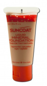 Suncoat, Liquid Mineral Foundation, Transparent, Fragrance-Free, 1 fl oz