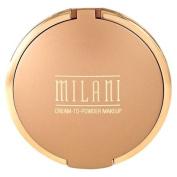 Milani Smooth Finish Cream To Powder Makeup Oil Free #07 Medium Beige