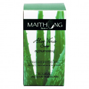 Maithong Aloe Vera Soap,Acne Facial Spa,Face and Body Wash Soap Bar 100g