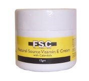 FSC Natural Source Vitamin E Cream with Calendula 15gm