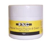 FSC Natural Source Vitamin E Cream with Calendula 15gm