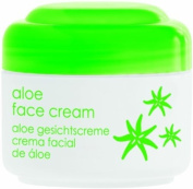 ALOE FACE CREAM 50ml 1.7 fl oz ZIAJA Dry and normal skin. Vitamin E, provitamin B5 (d-panthenol), aloe leaf extract.