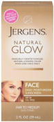 Jergens Natural Glow Healthy Complexion Daily Facial Moisturiser For Fair to Medium Spf 55g