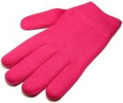 Pair of Moisturising Gel Gloves - Deep Pink