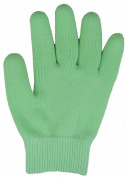 Pair of Moisturising Gel Gloves - Mint Green