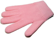 Pair of Moisturising Gel Gloves One Size - Pale Pink