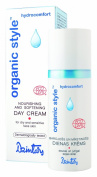 """Organic Style Hydrocomfort"" Nourishing and softening Day Cream (50 ml) for dry and sensitive face skin."