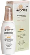Aveeno Positively Radiant Daily Moisturiser Spf 30, Fair To Light Tint, 70ml Tubes