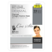 DERMAL Charcoal Collagen Essence Mask (10sheets)
