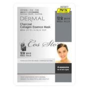 DERMAL Charcoal Collagen Essence Mask (10sheets)