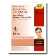 DERMAL Red Ginseng Collagen Essence Mask (10sheets)