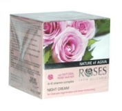 Roses Regenerating & Hydrating Night Cream With Vitamin Complex and Rose Water - 30ml