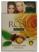 Beauty Rose Anti Wrinkles Night Cream with Natural Oils of Rose 50ml