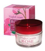Night Cream Rose of Bulgaria with Natural Rose Water