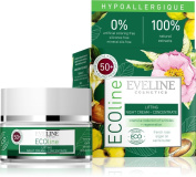 100% Natural Organic face cream - HYPOALLERGENIC LIFTING NIGHT CREAM CONCENTRATE FOR 50+