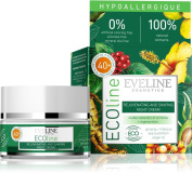 100% Natural Organic face cream - HYPOALLERGENIC REJUVENATING & SHAPING NIGHT CREAM FOR 40+