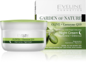 NIGHT CREAM ANTI WRINKLE 50ml * Olive + Q10 Formula *