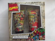 MARVEL COMICS Hero Face and Body Set Shower Gel and Face Wash