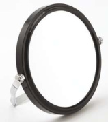 Travel Mirror In Black With 7x Magnification