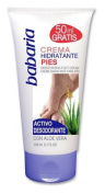 Babaria Aloe Vera Moisturising and Deodorising Foot Cream 150ml