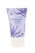 Heathcote and Ivory Wild English Lavender Mini Hand Sanitiser 50ml