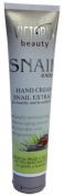 HAND CREAM WITH SNAIL EXTRACT*FOR HEALTHY AND BEAUTIFUL HANDS*DEEPLY moisturising*SLOWS ageing PROCESS*EVENS SKIN TONES*REGENERATES