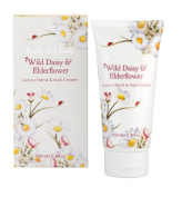 Heathcote & Ivory Florals Wild Daisy and Elderflower Luxury Hand and Nail Cream 100ml
