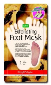 "EXFOLIATING FOOT MASK PAPAYA & CHAMOMILE EXTRACT - 1 pair * ""Sock type"" foot exfoliating mask * Perfectly peel away calluses and dead skin cells in just 2 weeks!!!"