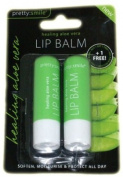 Pretty Smile Lip Balm Aloe Vera 2pk