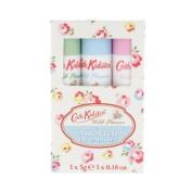 Cath Kidston Wild Flowers Assorted Lipbalm Set 3x5g