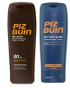 Piz Buin In Sun Lotion Spf 30  200Ml  & Tan Intensifier Aftersun 200Ml