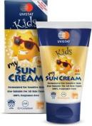 Uvistat Kids My Sun Cream Spf 50 High For Sensitive Skin Fragrance Free 125ml