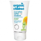 Green People Children's Sun Lotion Scent Free SPF 30