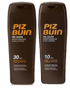 Piz Buin In Sun Lotion Spf10 And Spf 30 - 200Ml Each