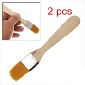 Face Treatment Makeup Tool Facial Mask Orange Brush 2pcs